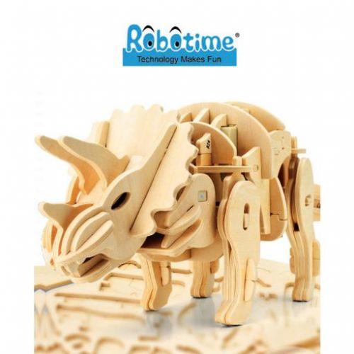 RoboTime Robotická hračka Dinosaurus Triceratops D400 cena od 0 Kč