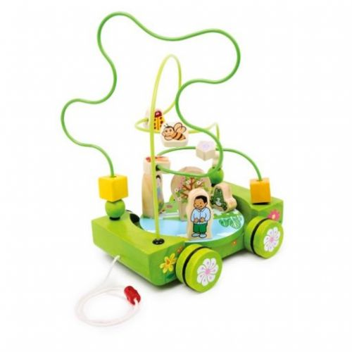 Legler motorický labyrint Veselý vozík cena od 484 Kč