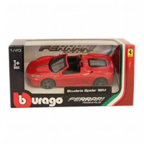 Bburago Ferrari Scuderia Spider 16M 1/43