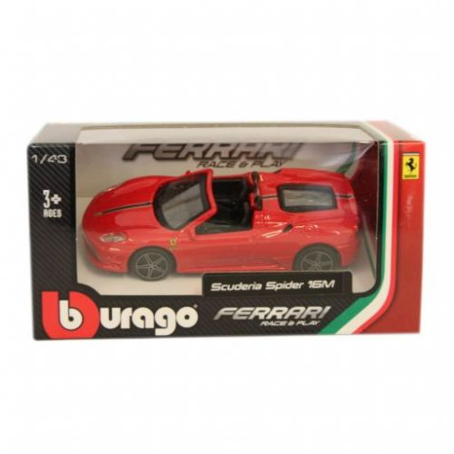 Bburago Ferrari Scuderia Spider 16M 1/43 cena od 169 Kč