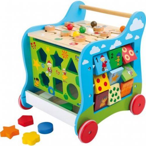 Legler dřevěný didaktický vozík