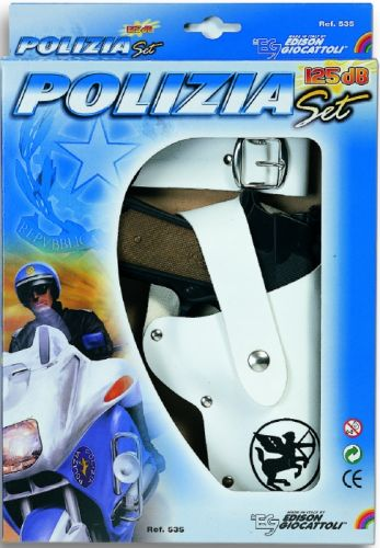Alltoys Pistole s poudrem policejní sada kapslíková cena od 0 Kč