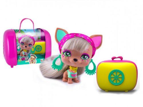 Teddies Leah VIP PETS s kufříkem a doplňky 11 cm cena od 0 Kč