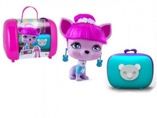 Teddies Lady Gigi VIP PETS s kufříkem a doplňky 11 cm cena od 455 Kč