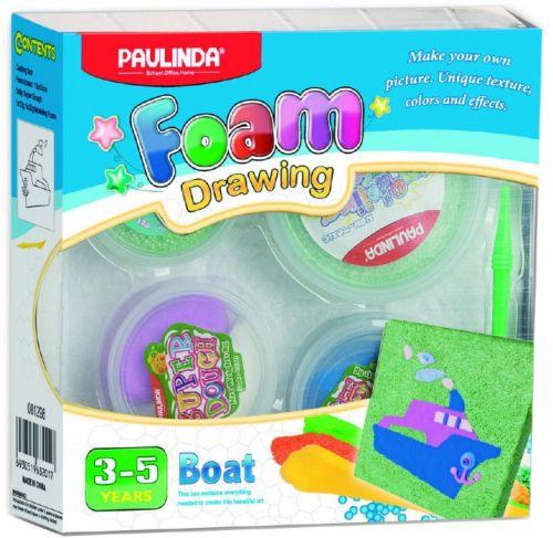Alltoys Foam Drawing kreativní sada Loď cena od 42 Kč