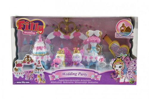 EPLINE Ep line Filly svatba svatební hostina s 2 poníky