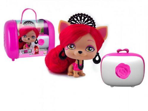 Teddies Juliet VIP PETS s kufříkem a doplňky 11 cm cena od 0 Kč