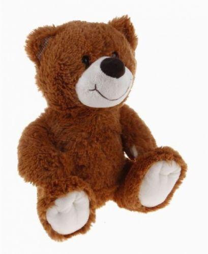 Alltoys Medvěd sedící s úsměvem 28 cm cena od 0 Kč
