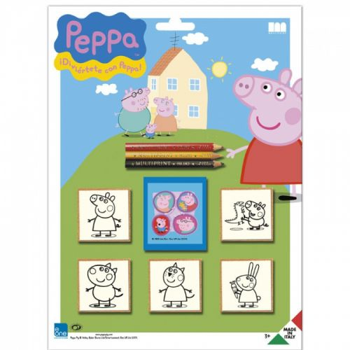 HM Studio: Razítka Pig Peppa, blistr 5 ks - HM Studio cena od 112 Kč