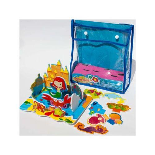 MeadowKids Pěnové hračky do vany Mořská panna