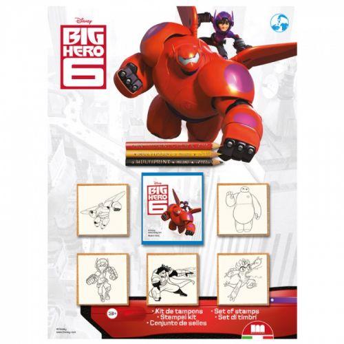 HM Studio: Razítka Big Hero, blistr 5 ks - HM Studio cena od 95 Kč