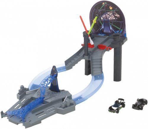 Mattel Hot Wheels Star Wars set autíčko s tratí cena od 847 Kč