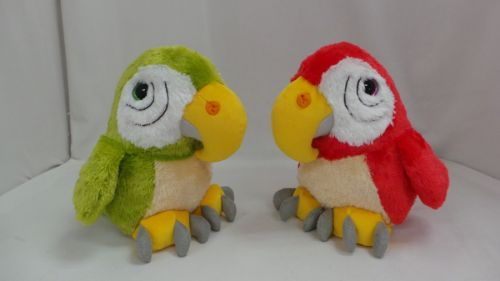 Alltoys Papoušek plyšový 22 cm