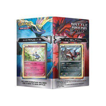 Konami Pokémon Battle Arena Decks Xerneas vs. Yveltal cena od 869 Kč