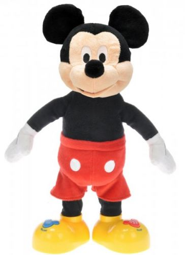 Mikro hračky Mickey Mouse mluvící a zpívající 33 cm