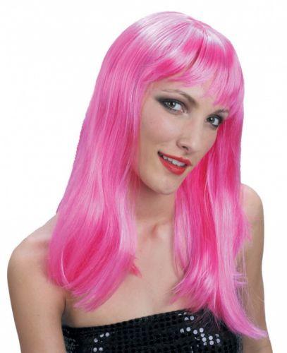 Alltoys Paruka růžová dlouhé vlasy cena od 164 Kč