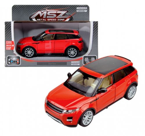 Alltoys Range Rover Evoque 1:24 cena od 384 Kč
