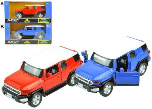 Alltoys Toyota FJ Cruiser 1:32 cena od 184 Kč