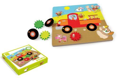 Scratch Pohyblivé puzzle Farma cena od 534 Kč