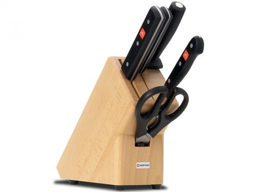 Wüsthof GOURMET Blok s noži cena od 5459 Kč