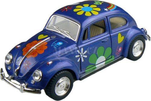 Kinsmart Volkswagen Beetle hippies 13 cm