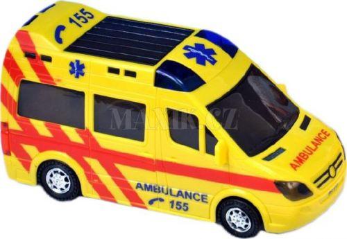 Teddies Ambulance narážecí se světlem a zvukem 21 cm cena od 172 Kč