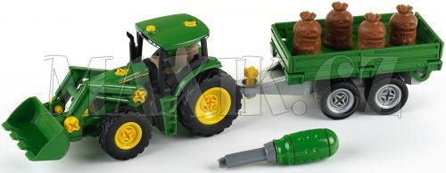 Klein John Deere Traktor s přívěsem cena od 767 Kč
