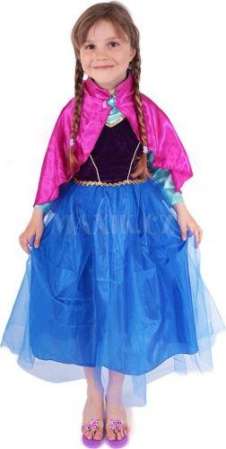 Rappa Kostým princezna zimní Anička Deluxe cena od 325 Kč