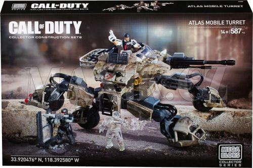 Megabloks Micro Call of Duty 4x4 obrněné vozidlo s věží a dělem