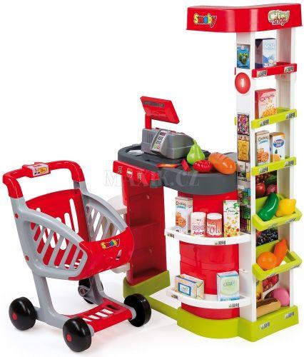 Smoby Supermarket City Shop cena od 1399 Kč
