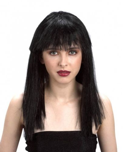 Alltoys Paruka černá dlouhé vlasy cena od 187 Kč