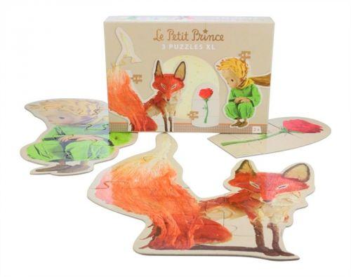 Velké puzzle Malý Princ Avenue Mandarine 3v1 cena od 179 Kč