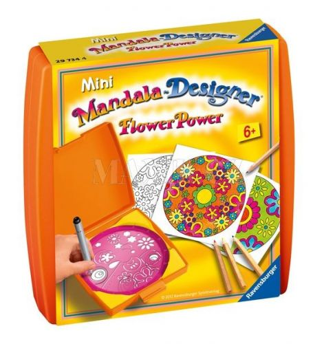 Ravensburger Mini Mandala Květiny cena od 225 Kč