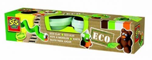SES ECO Keramická modelína přírodní barvy 4x90 g cena od 231 Kč