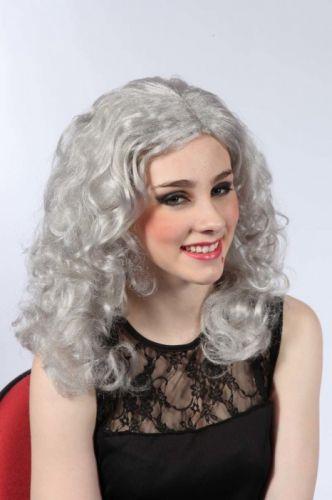 Alltoys Paruka bílá dlouhé vlnité vlasy cena od 159 Kč