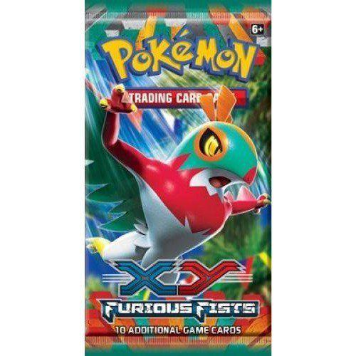 Nintendo Pokémon XY 3 Furious Fists Booster cena od 0 Kč