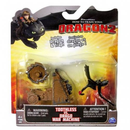 Spin Master Jak vycvičit draka Toothless vs. Drago War Machine cena od 0 Kč