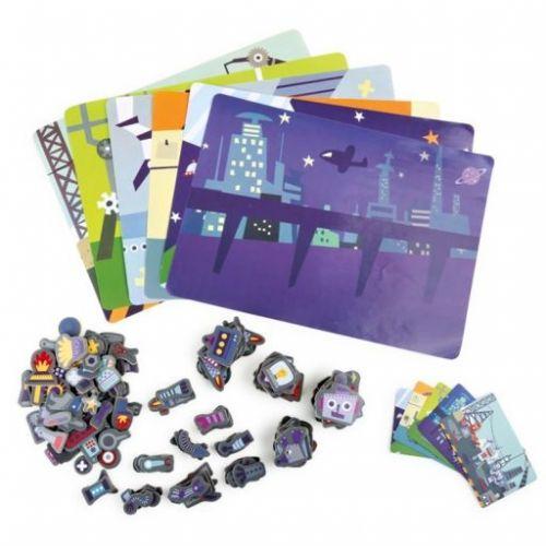 Legler Magnetické puzzle Roboti cena od 443 Kč