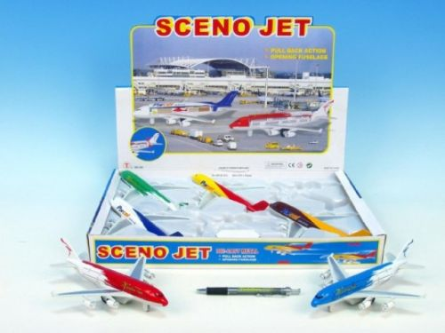 Mikro Trading Letadlo kov 21 cm cena od 148 Kč