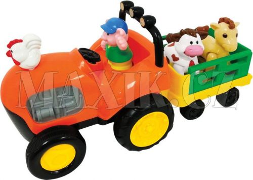 Kiddieland Farmářský traktor cena od 498 Kč