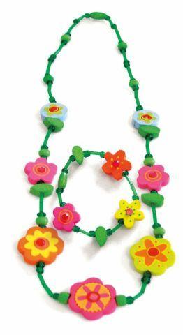 WOODY Souprava náhrdelník a náramek cena od 79 Kč