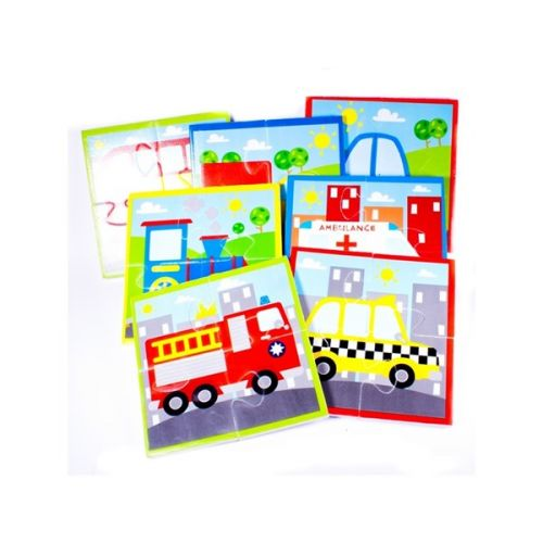 MeadowKids Puzzle do vany Dopravní prostředky cena od 117 Kč