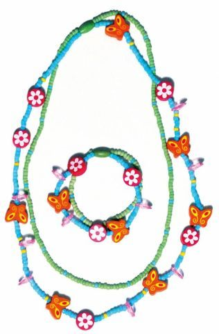 WOODY Souprava dvojitý náhrdelník a náramek cena od 0 Kč