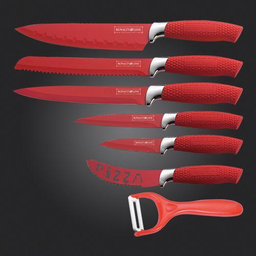 Royalty Line RL-RED6W sada nožů cena od 0 Kč
