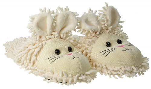 Aroma Home Fuzzy Friends Slippers Rabbit boty