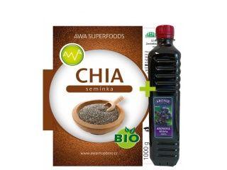 AWA superfoods BIO Chia semínka 1000 g