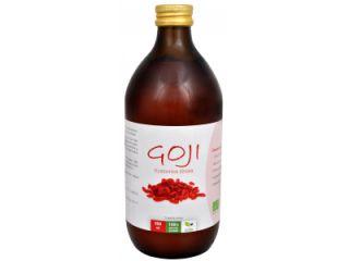 Natural medicaments Goji Kustovnice čínská 100% Bio šťáva 500 ml