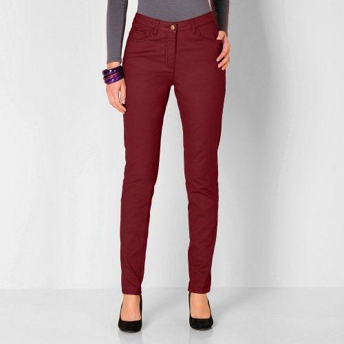 BLANCHEPORTE Kalhoty v koženém vzhledu
