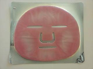 AWA Kolagenová relaxační maska s růžovým olejem obličej