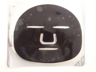 AWA Kolagenová pleťová maska s karbonovým pudrem obličej